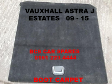 VAUXHALL  ASTRA  J  ESTATE  BOOT CARPET    2009 - 2015  USED  (Good Condition )